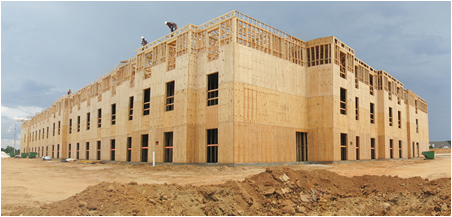 razor construction multi family framing contractor